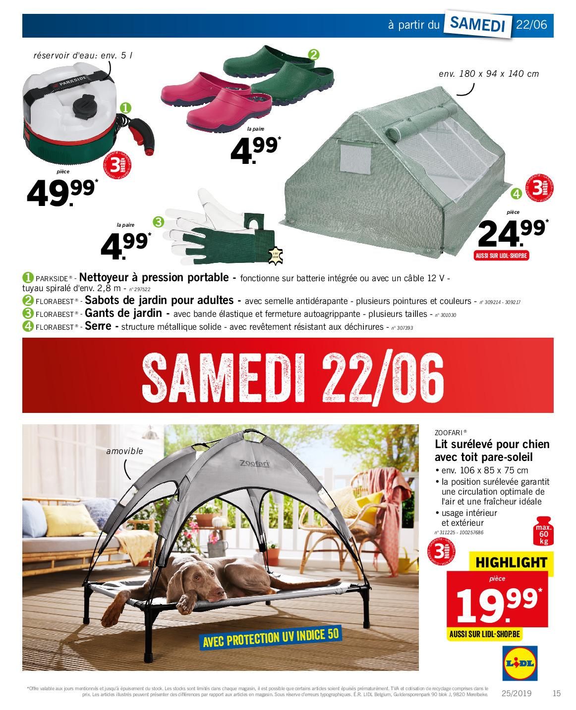 Lidl – Dépliant Du 17.06.2019 Au 22.06.2019 – Page 29 ... pour Serre De Jardin Florabest