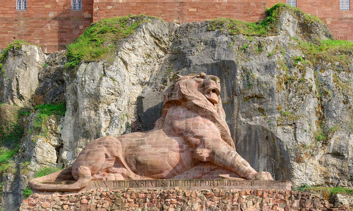 Lion De Belfort — Wikipédia pour Statue De Jardin D Occasion