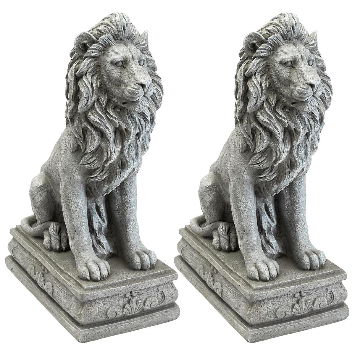 Lion Statue D'occasion | Plus Que 3 À -75% avec Statues De Jardin Occasion
