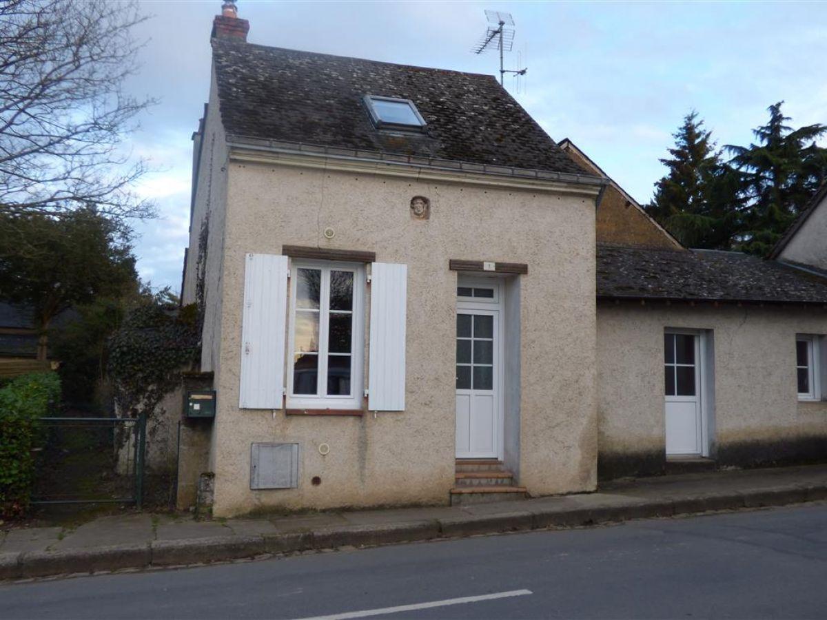 Location Petite Maison À Précigné 72300 - Proximité Sablé ... à Maison Avec Jardin A Louer