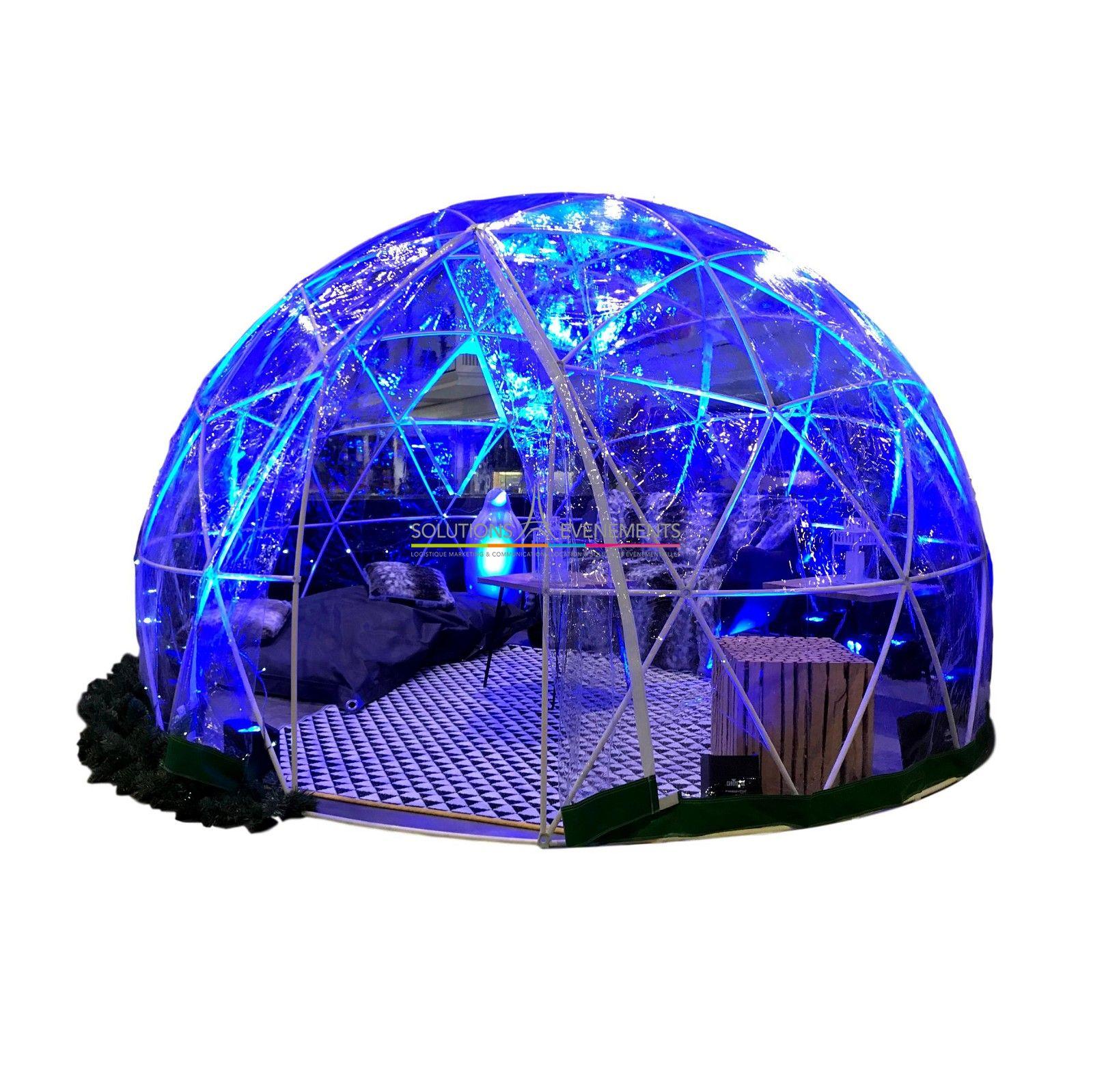 Location Tente Bulle Igloo Transparente destiné Bulle De Jardin Prix