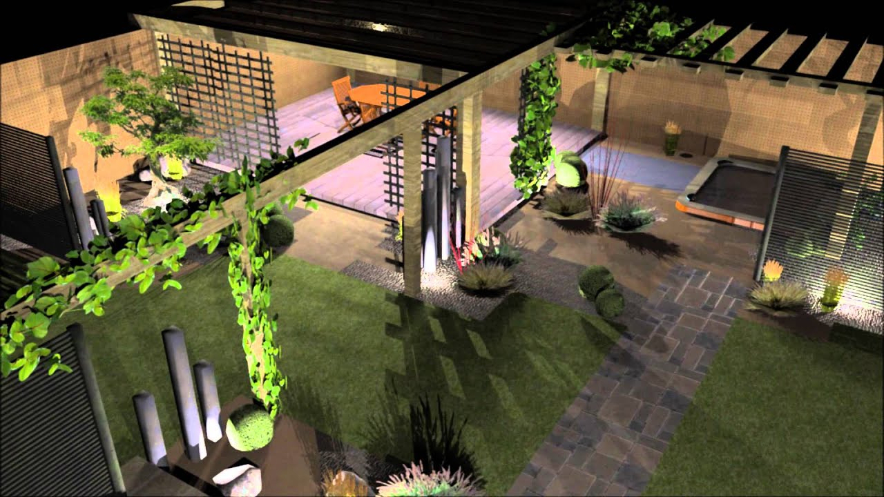 Logiciel Creation Jardin Schème - Idees Conception Jardin pour 3D Jardin & Paysagisme