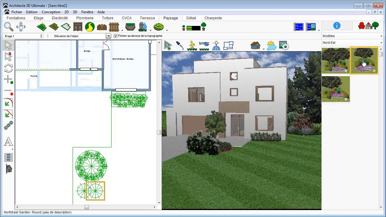 Logiciels Et Applications De Création De Jardin : Le Top 5 intérieur Créer Un Plan De Jardin Gratuit
