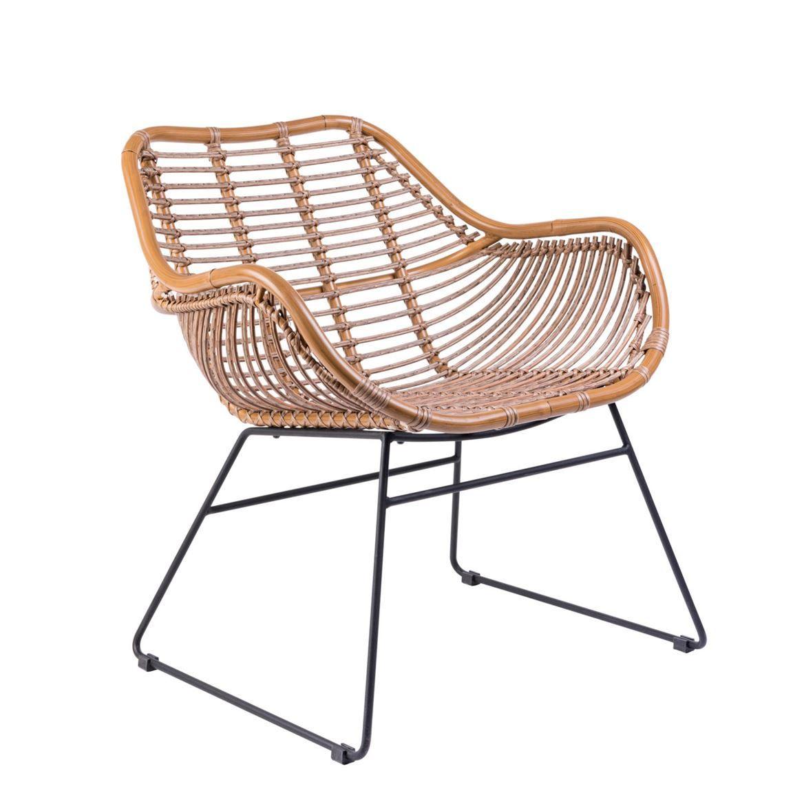 Lombok Chaise Lounge Naturel H 78 X Larg. 68 X P 67 Cm ... encequiconcerne Chaise De Jardin Casa