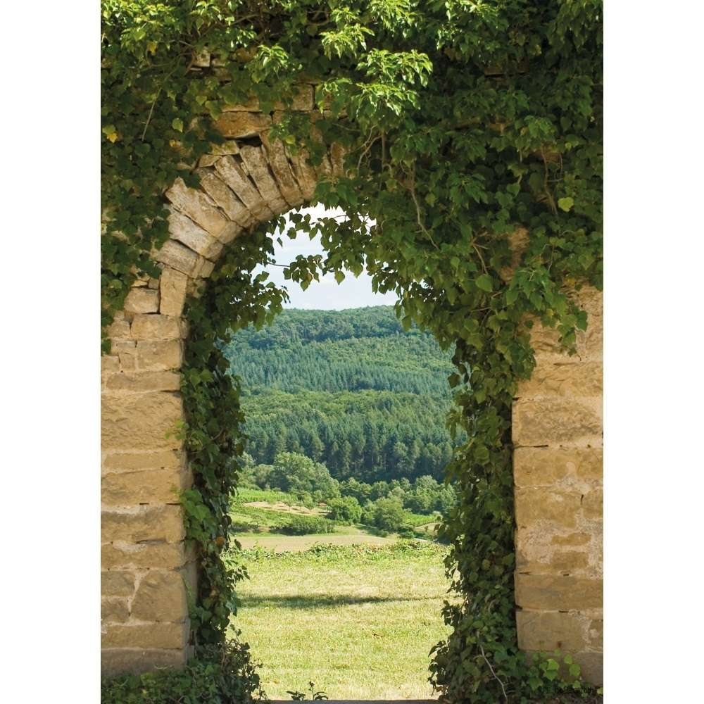 Look Through Valley - Garden Decoration Painting avec Trompe L Oeil Exterieur Jardin
