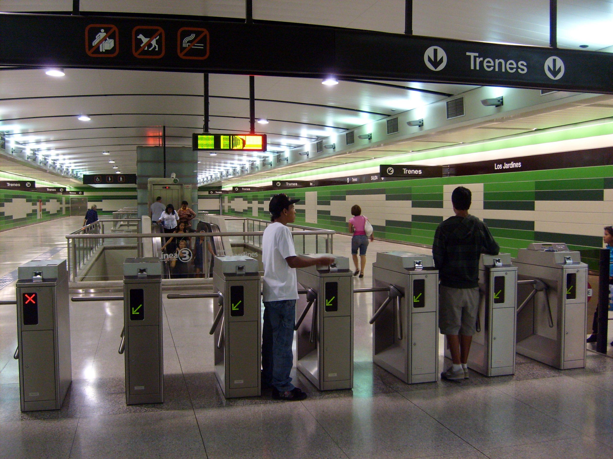 Los Jardines (Metro De Caracas) - Wikipedia, La Enciclopedia ... dedans Station Meteo De Jardin