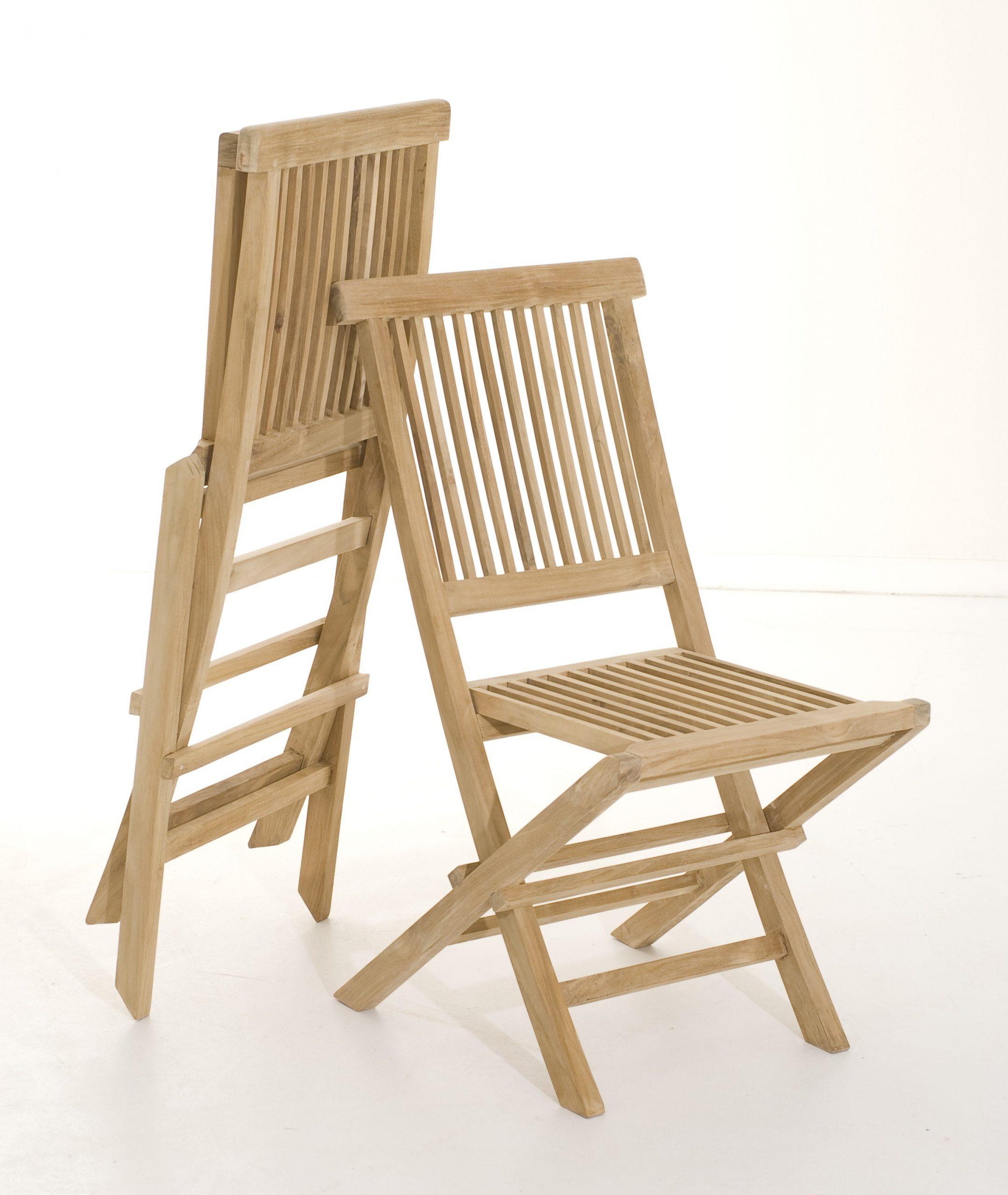 Lot De 2 Chaises De Jardin Pliante Java En Teck 90 Cm Summer avec Chaise De Jardin Pliante Pas Cher
