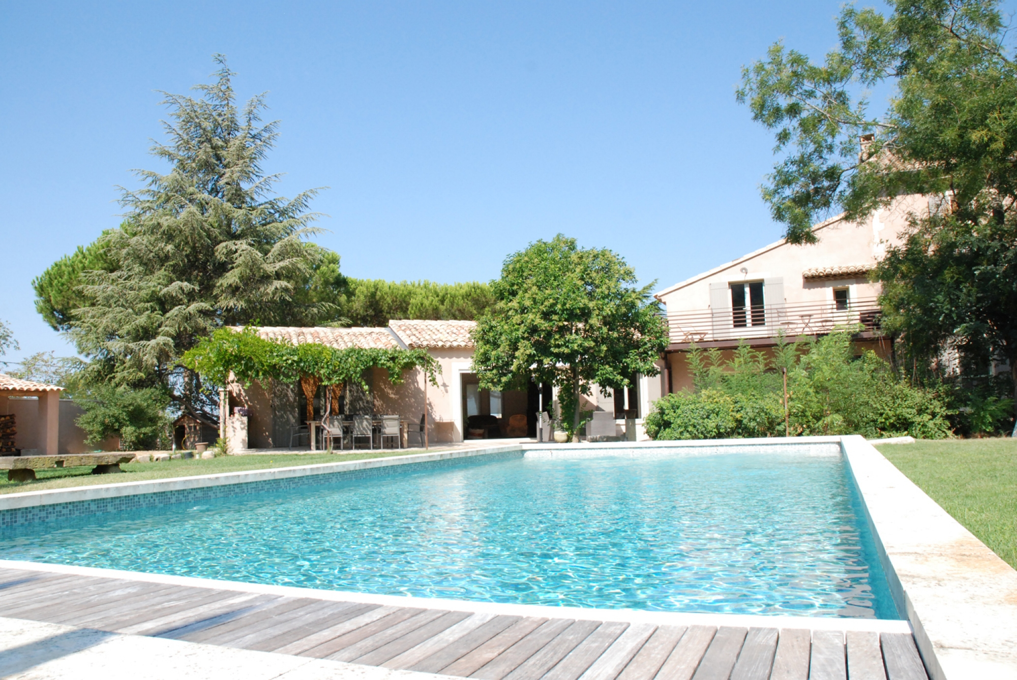 Louer Une Maison Pour Les Vacances Saignon 84400 - Pierres ... avec Maison Avec Jardin A Louer