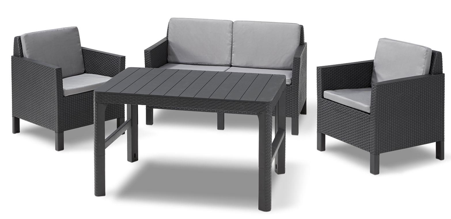 Loungeset | Lounge Sets - Allibert tout Salon De Jardin Allibert California