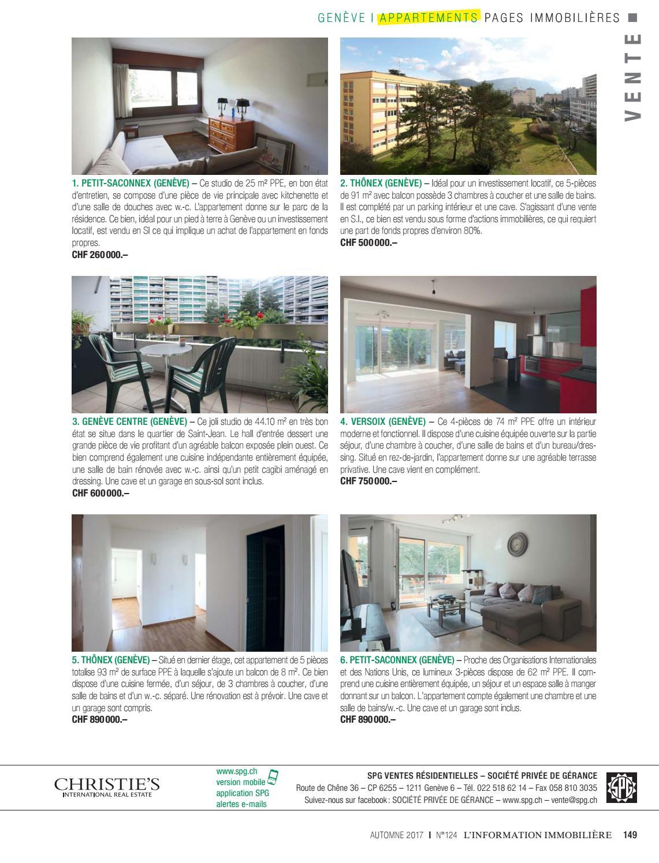 L'rmation Immobilière Automne 2017 N°124 By Societe ... destiné Vente Privée Jardin
