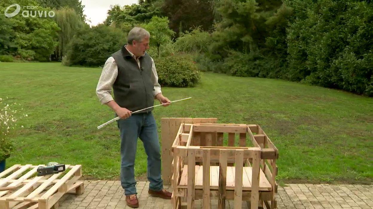 Luc Fabrique Un Potager Surélevé - Jardins & Loisirs - 05/11/2018 à Construire Jardin Surélevé