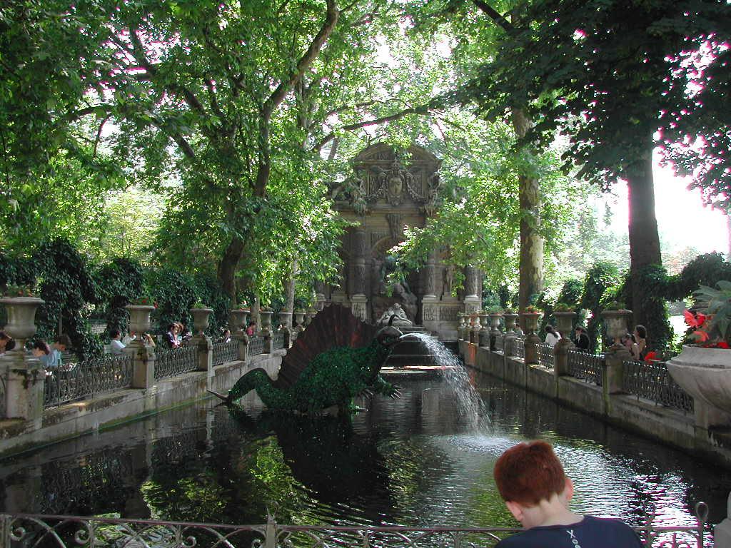 Lüksemburg Bahçesi - Vikipedi intérieur Jardin De Luxembourg Hotel