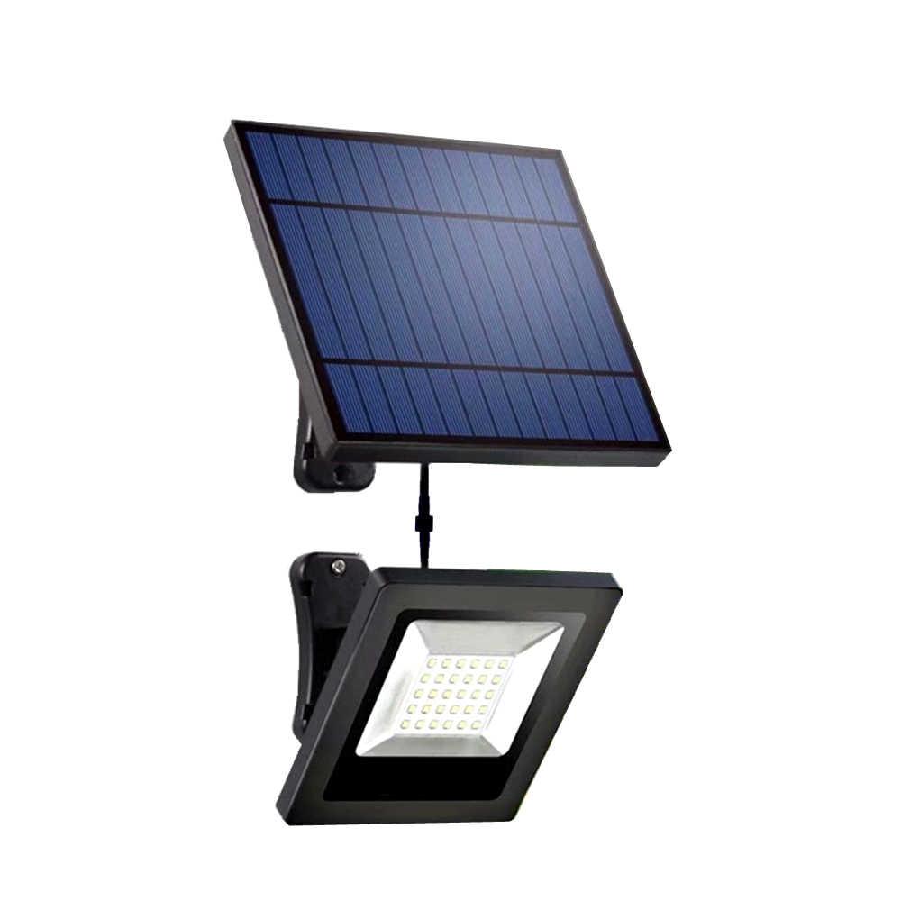 Lumière Solaire De Jardin 30Led Panneau Séparable 3/5 Mètres ... destiné Pile Pour Lampe Solaire De Jardin