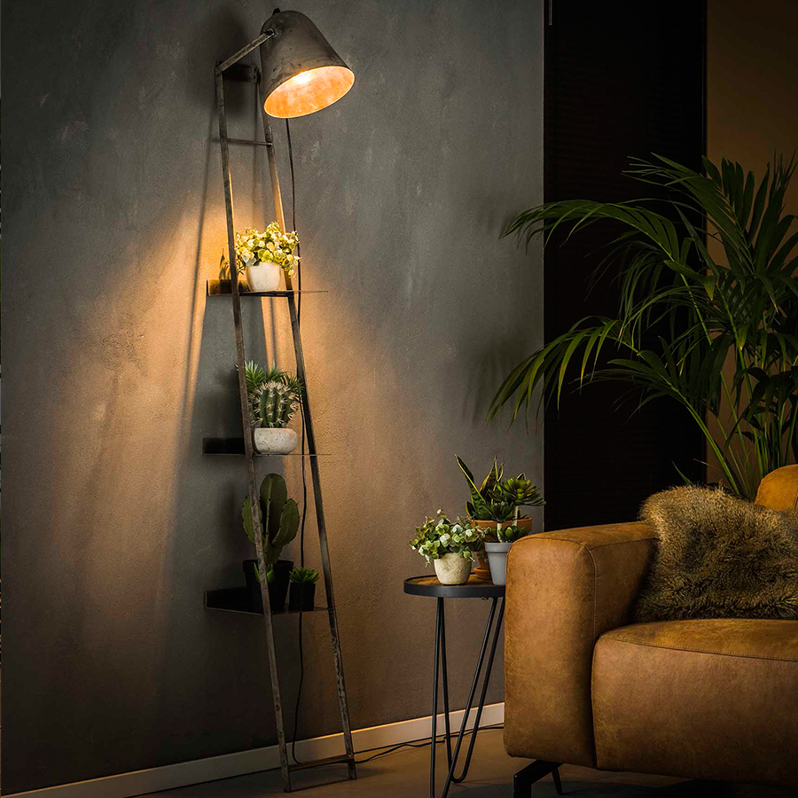 Luminaire Sur Pied, Lampe Style Industriel, Lampadaire Pas Cher concernant Lampadaire De Jardin Pas Cher