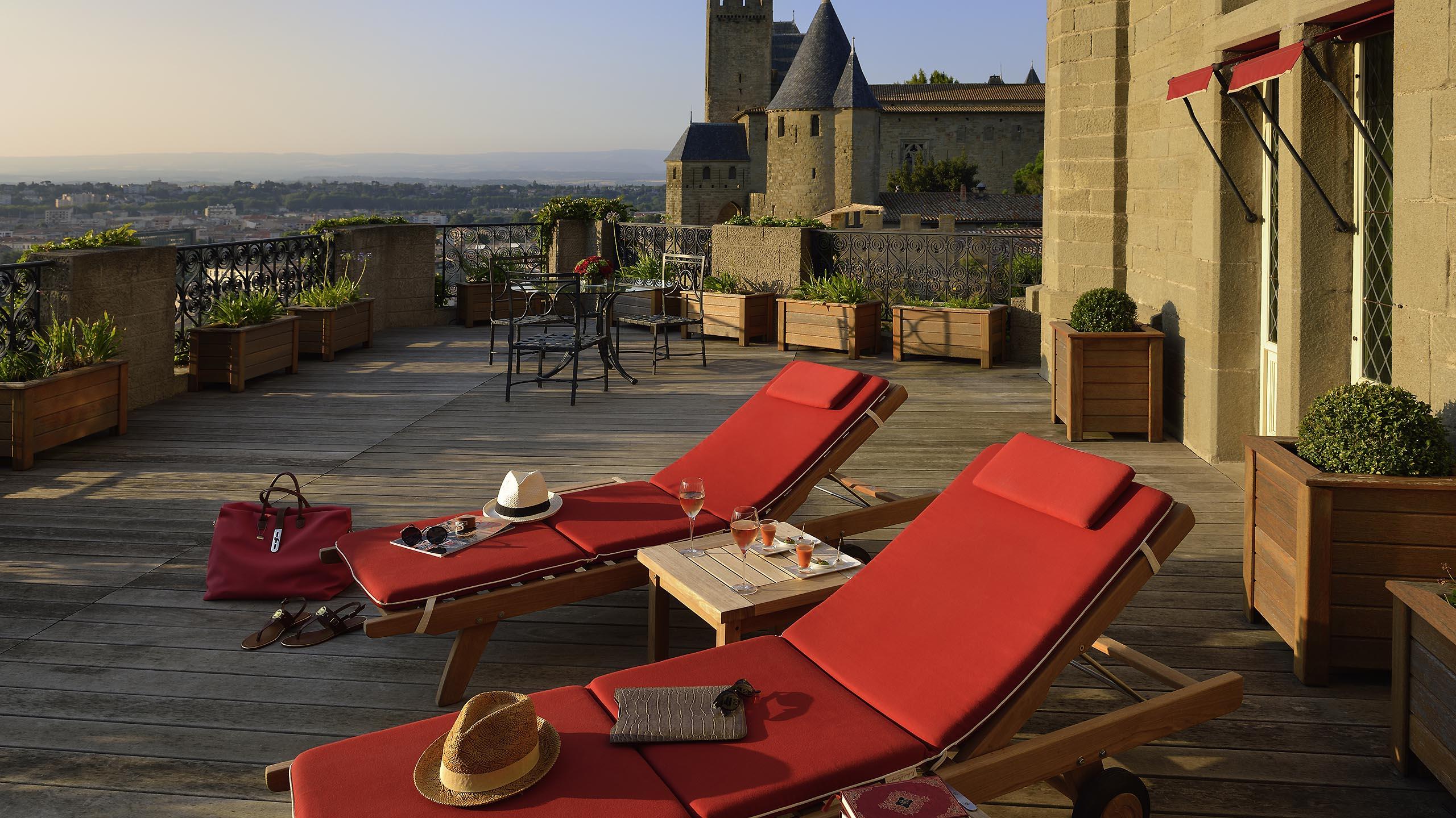 Luxury Hotel Carcassonne – Hotel De La Cité Carcassonne-Mgallery encequiconcerne Lit De Jardin Double