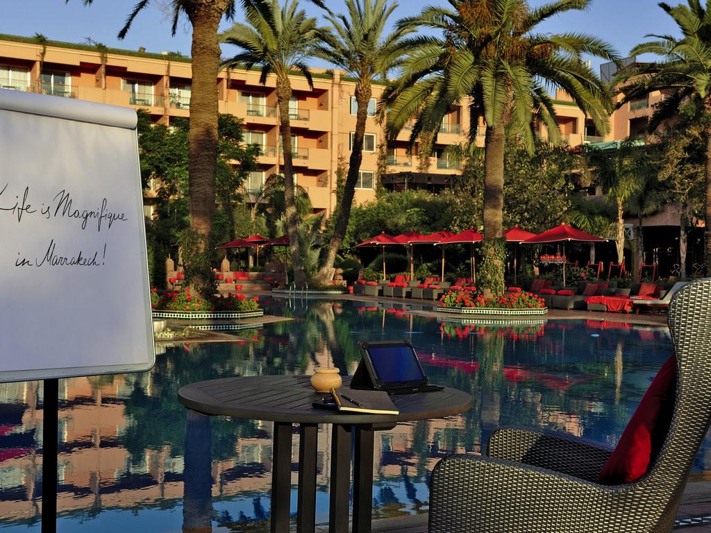 Luxury Hotel Marrakech – Sofitel Marrakech Palais Imperial avec Super U Table De Jardin