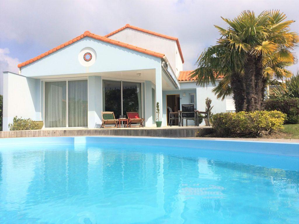 Luxury Villa In '' Les Jardins Du Château D'olonne '' Close To The Sea -  Château-D'olonne concernant Les Jardin Du Chateau D Olonne