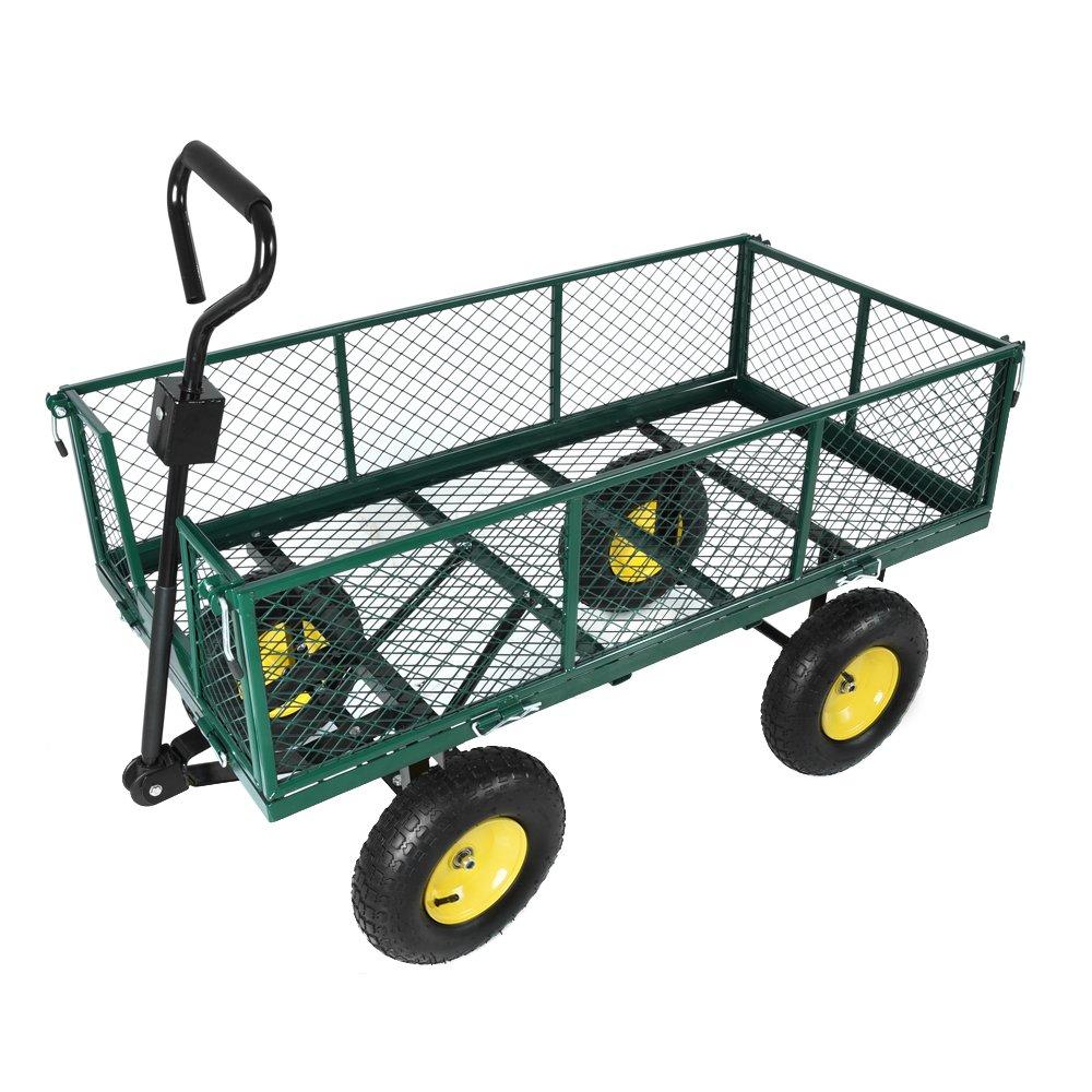 Ma Sélection De 3 Chariots De Jardin Pour Jardiner Malin concernant Chariot De Jardin 4 Roues