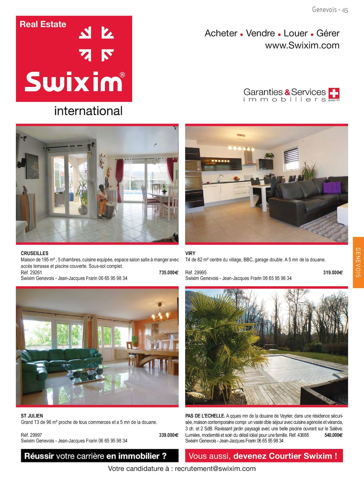 Magazine 91 Home Immobilier - Calameo Downloader tout Location Maison Avec Jardin 34