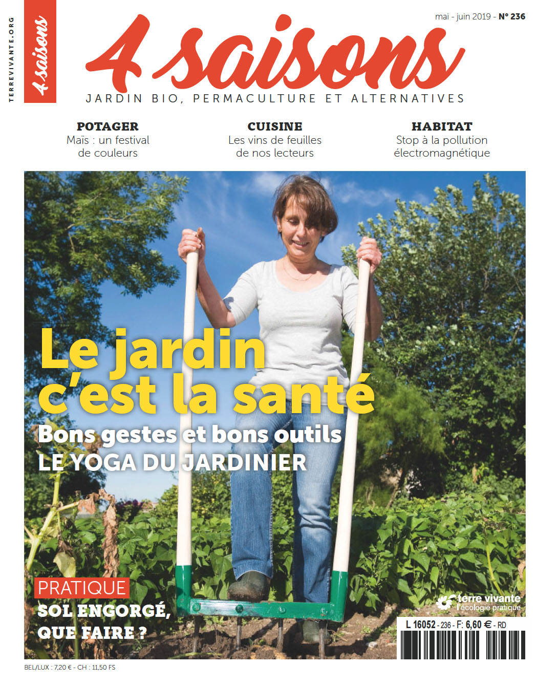 Magazine Les 4 Saisons Du Jardin Bio intérieur Jardiner Bio Magazine