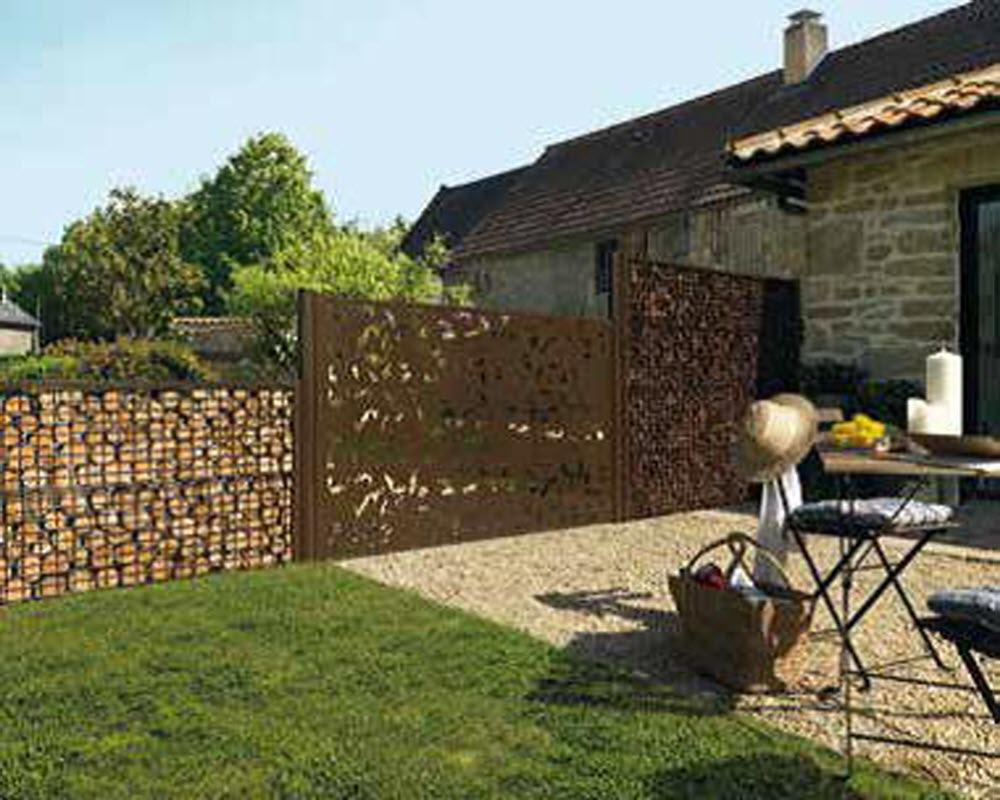 Magazine Lifestyle   Clôtures De Jardin : Comment Choisir ... à Panneau Pvc Jardin