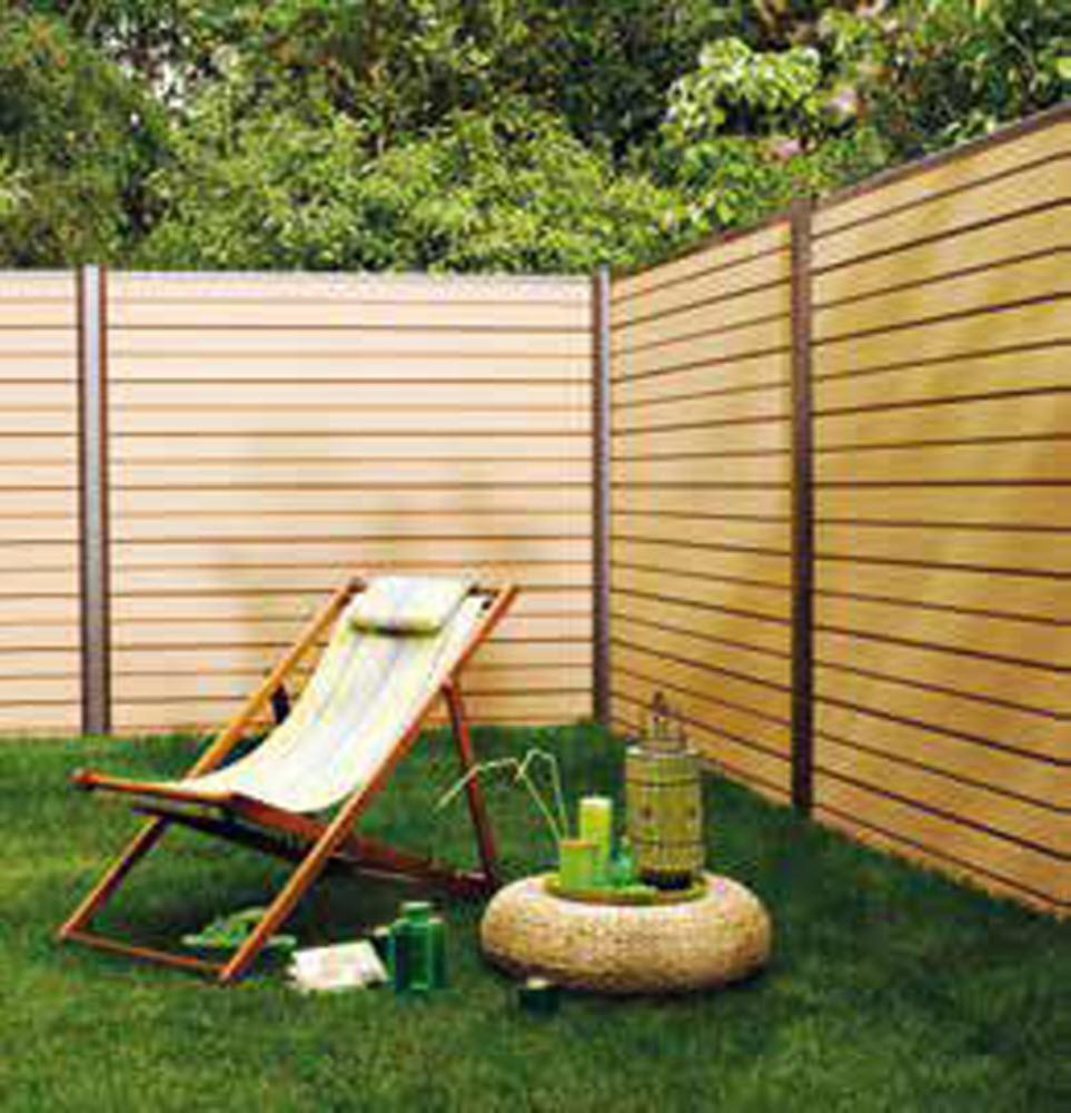 Magazine Lifestyle   Clôtures De Jardin : Comment Choisir ... encequiconcerne Panneaux Bois Jardin