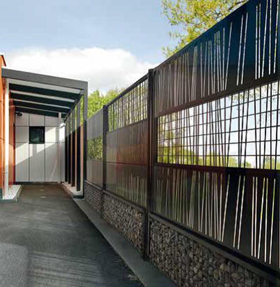 Magazine Lifestyle   Clôtures De Jardin : Comment Choisir ... intérieur Panneau Pvc Jardin