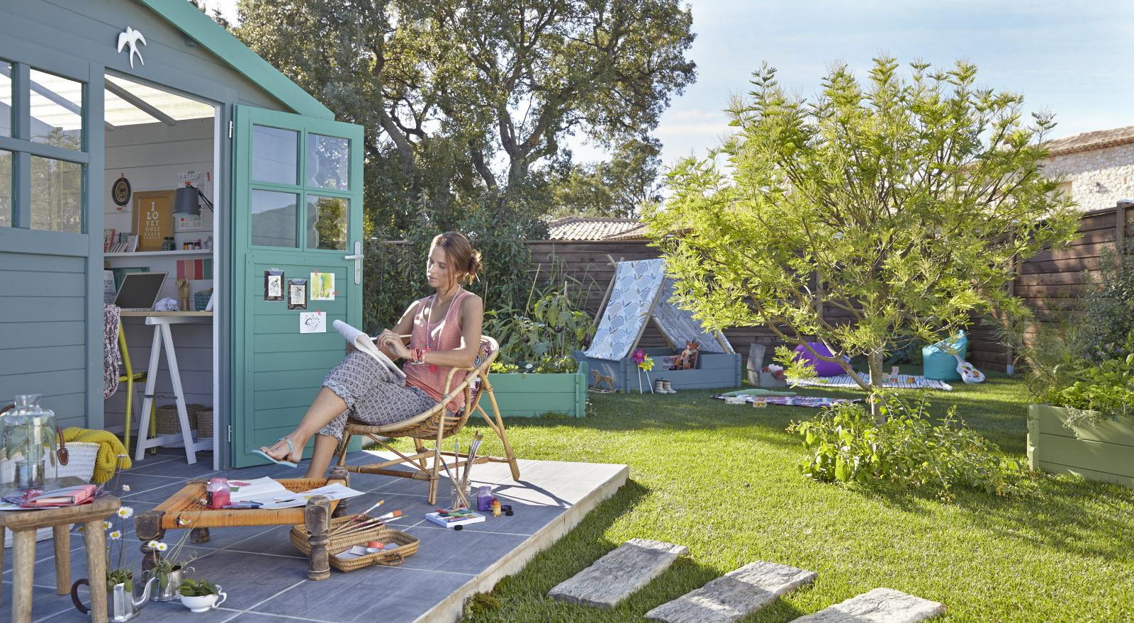 Magazine Lifestyle | Transformez Votre Cabane De Jardin En ... concernant Cabane De Jardin Leroy Merlin
