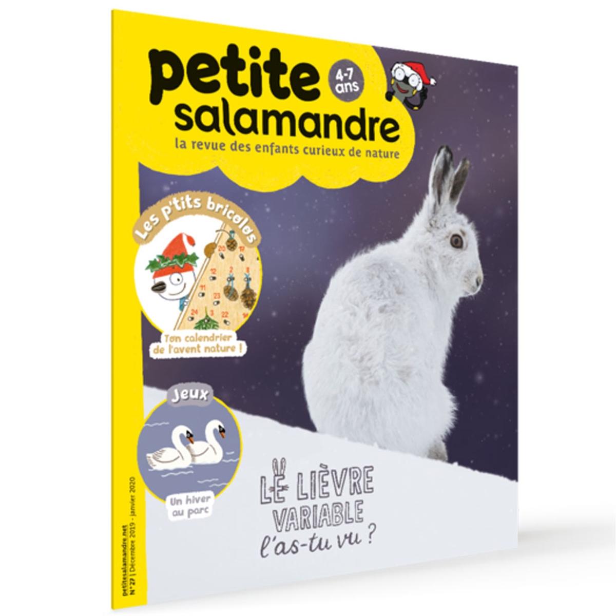 Magazine Petite Salamandre N27 Le Lièvre Variable, L´as-Tu Vu ? destiné Revue Jardin Facile