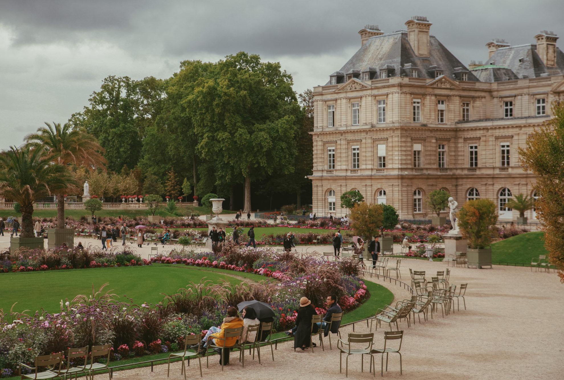 Magda Champs Elysées *** - Le Jardin Du Luxembourg: A Place ... serapportantà Jardin De Luxembourg Hotel