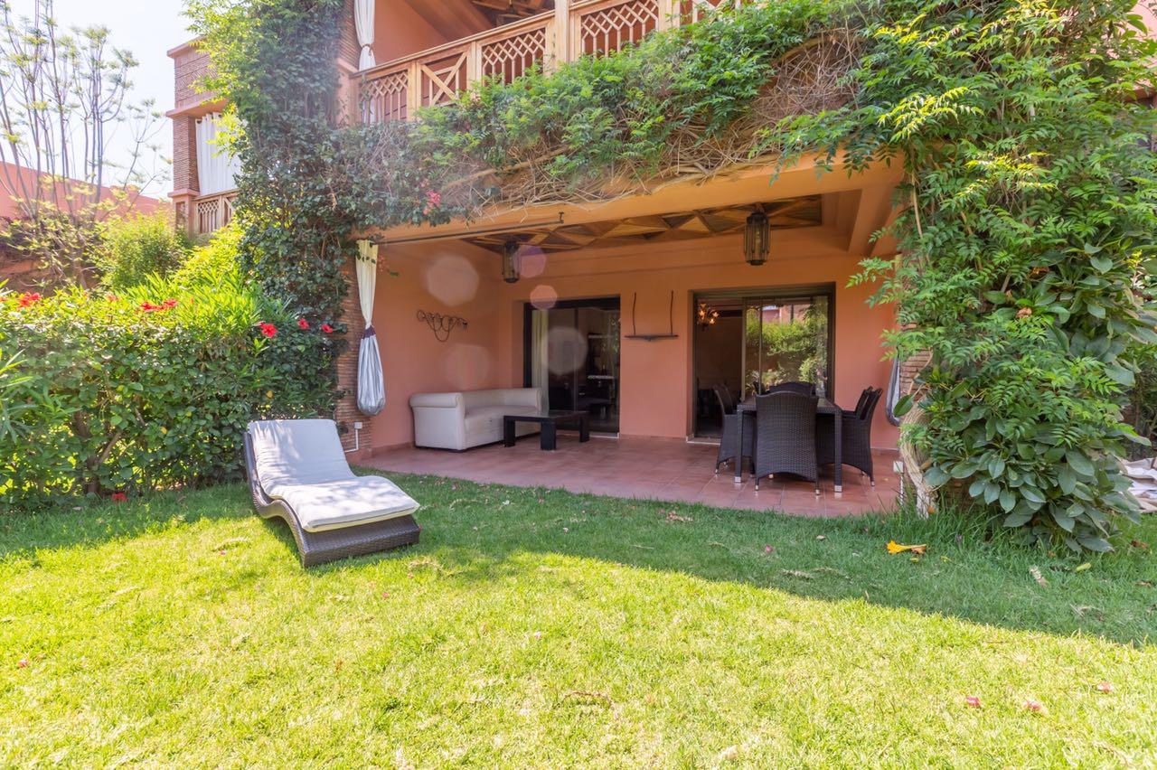 Magnifique Appartement En Rez De Jardin À Vendre À L'agdal Marrakech serapportantà Statut De Jardin