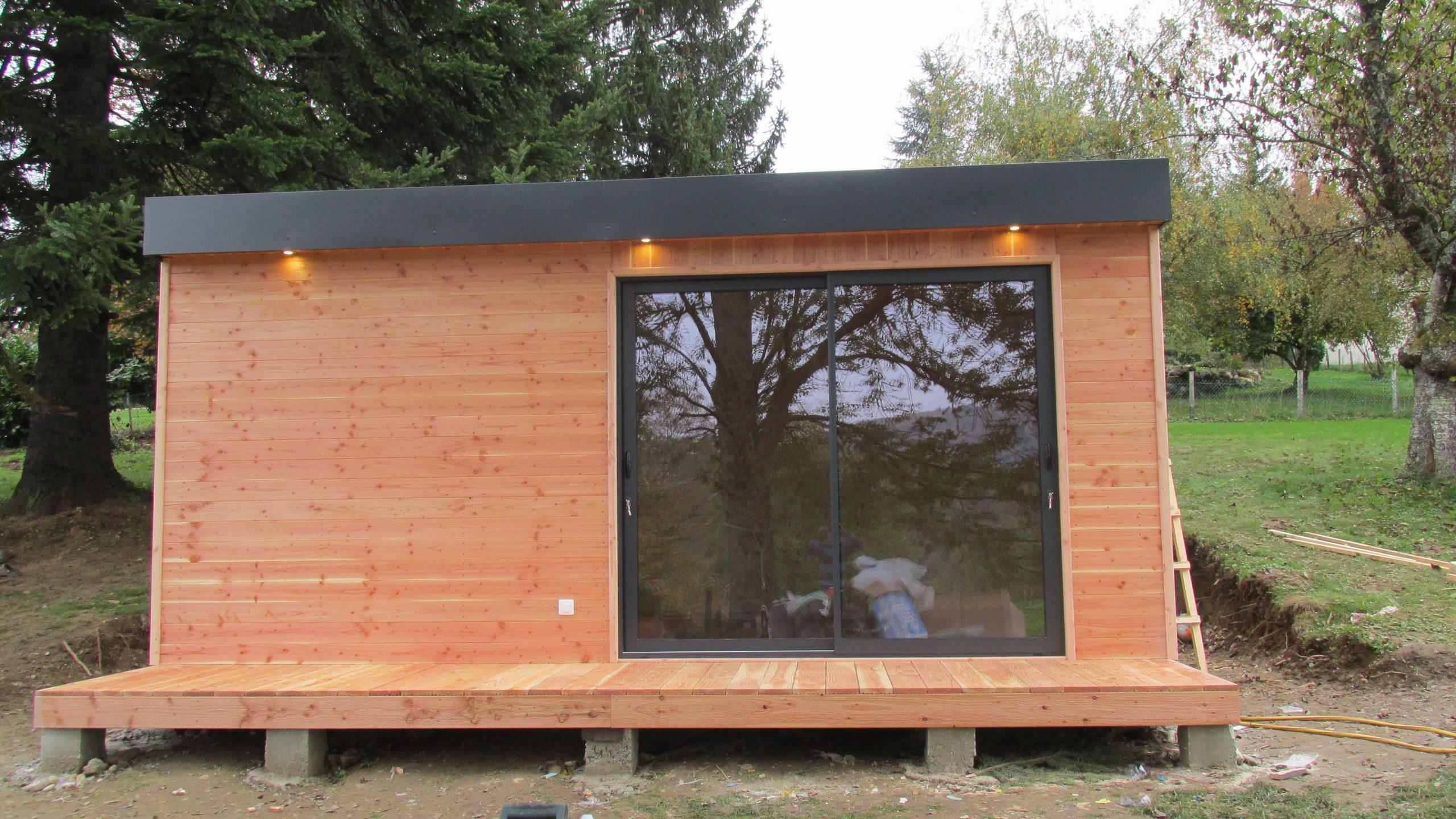 Maison Bois En Kit Pologne - Le Meilleur Des Maisons Bois En ... pour Bureau De Jardin En Kit