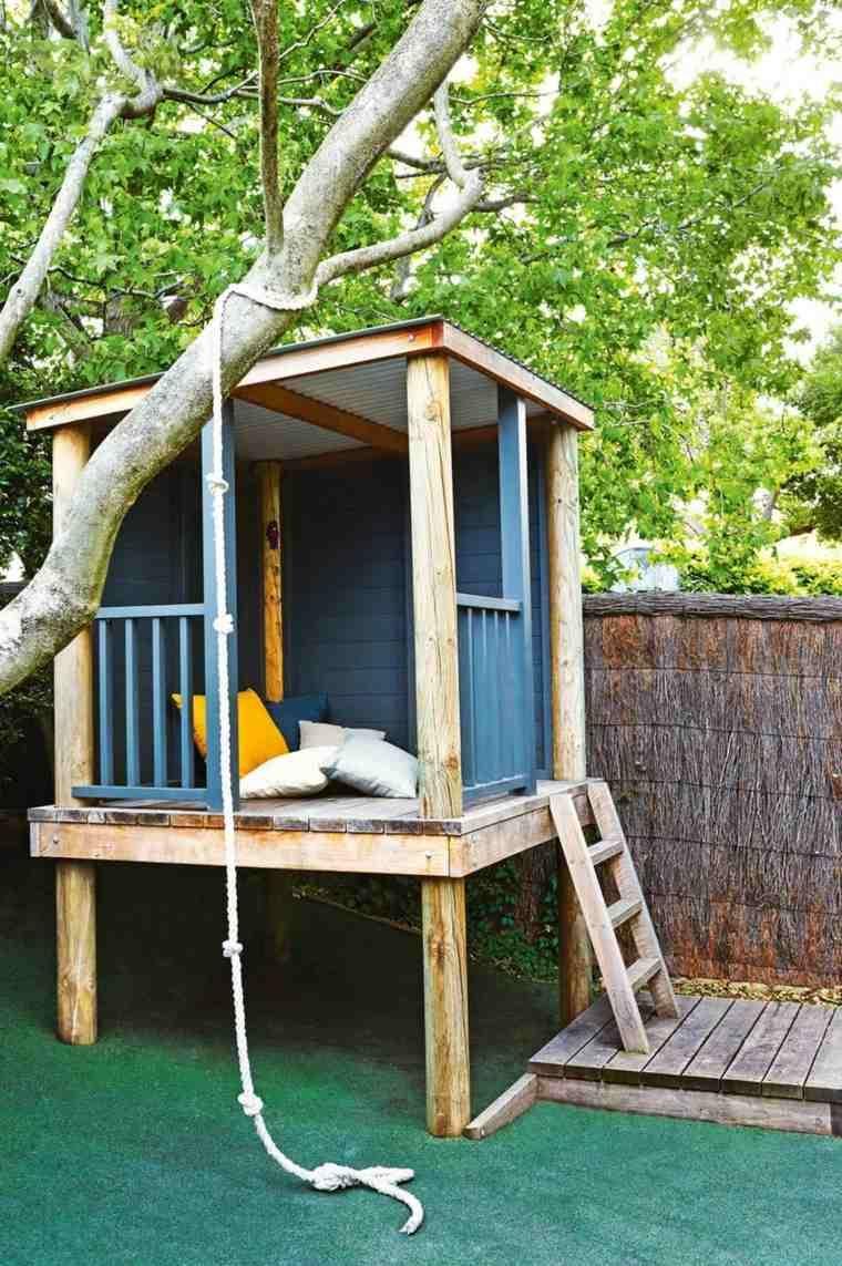 Maison-Dans-Les-Arbres-Enfant-Bois-A-Fabriquer-Modele ... à Cabane De Jardin Enfant Bois
