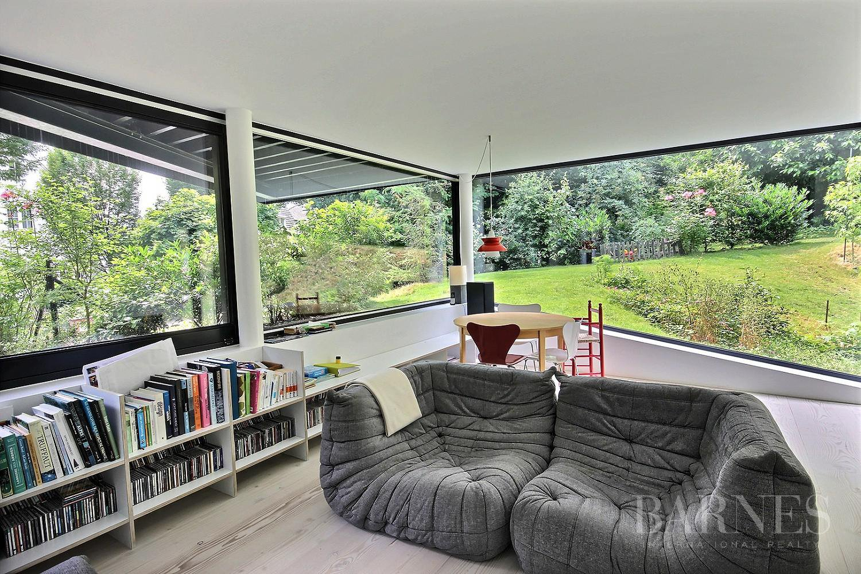 Maison D'architecte Contemporaine À 5 Min À Pied De La ... concernant Truffaut Table De Jardin