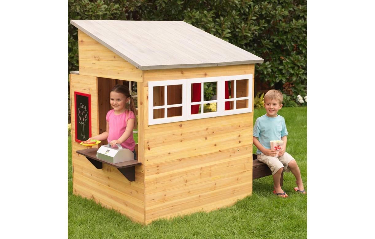 Maison De Jardin En Bois Schème - Idees Conception Jardin concernant Maison De Jardin Pour Enfant