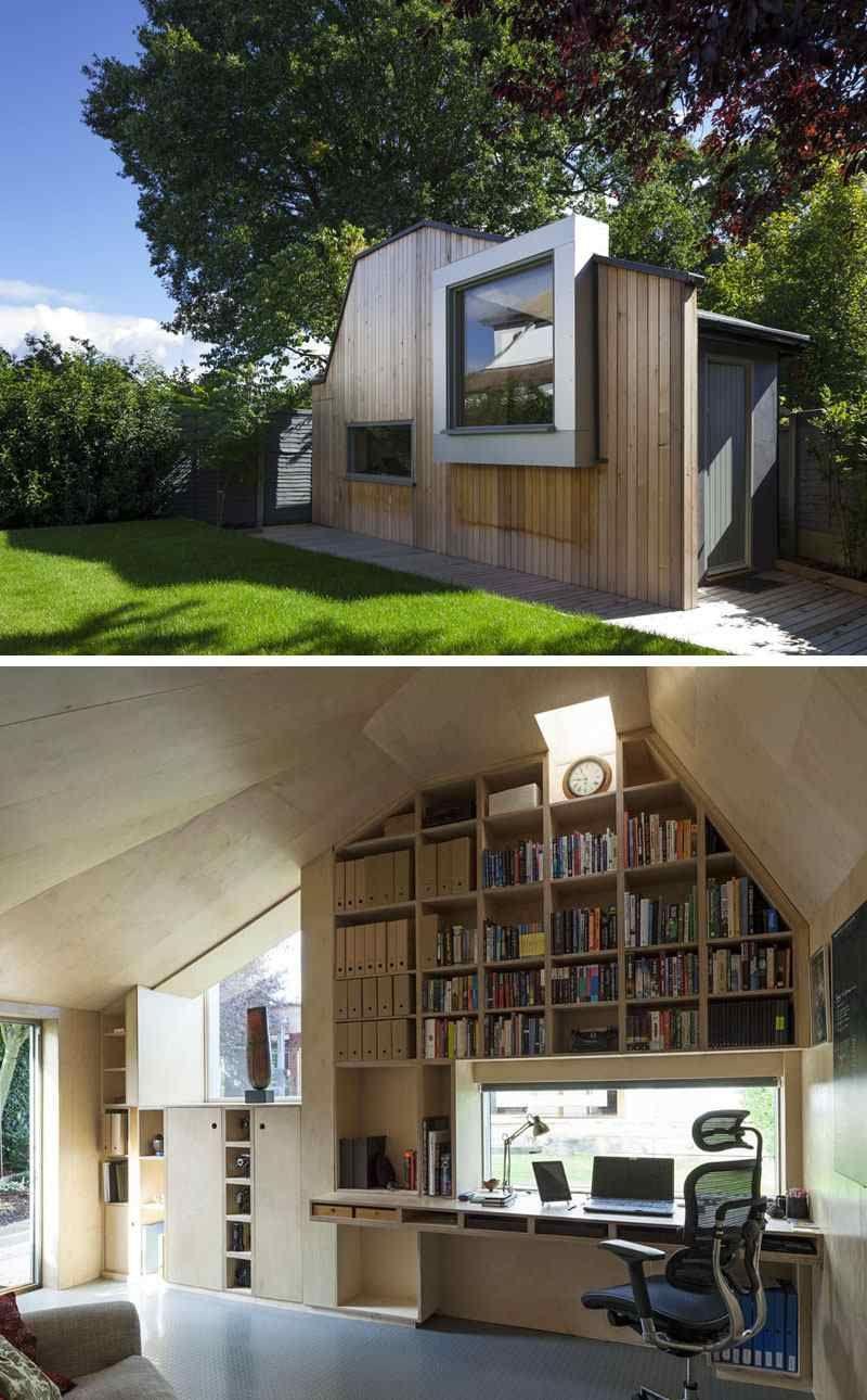 Maison De Jardin Habitable- 14 Abris Aménagés En Bureaux Ou ... concernant Abri De Jardin Habitable