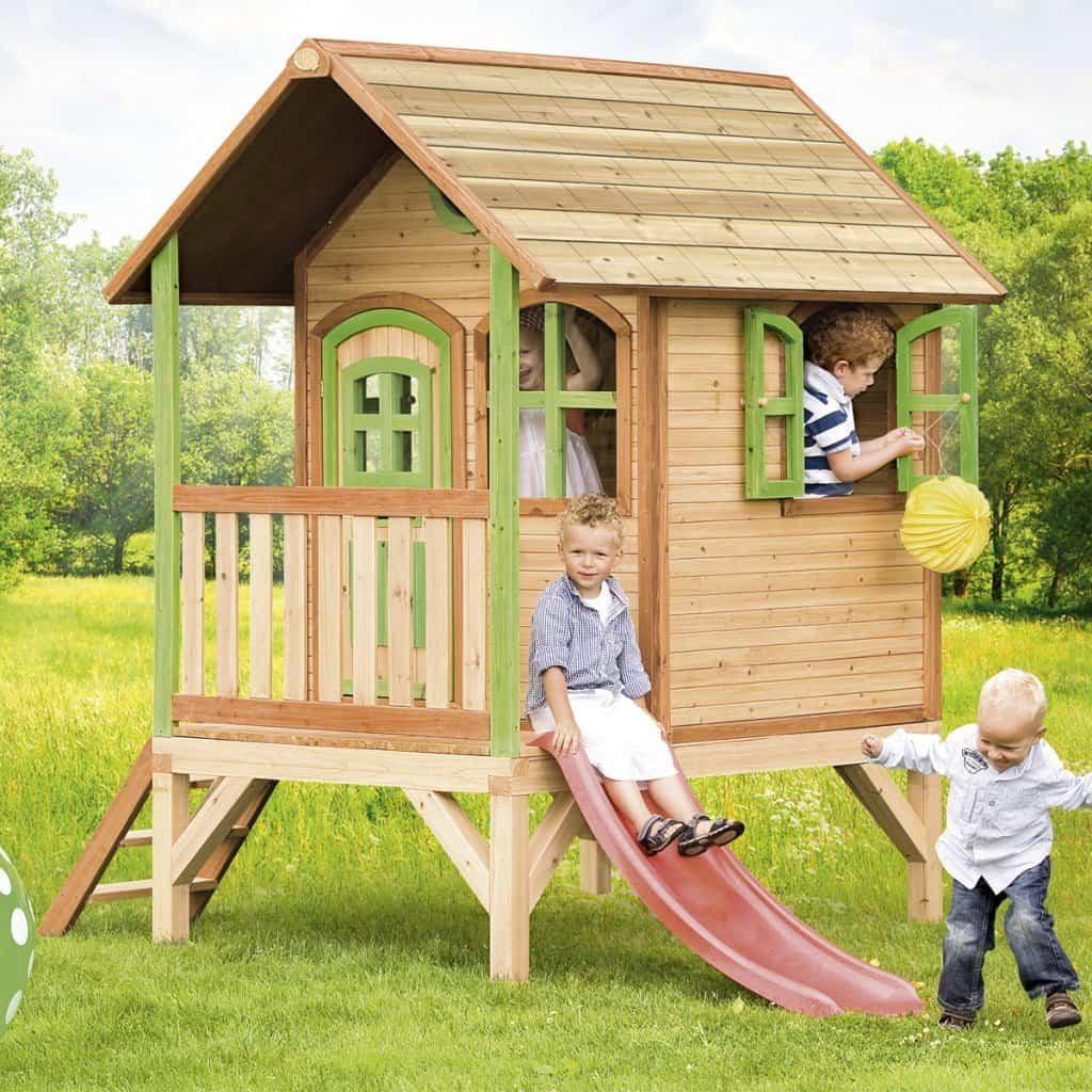 Maison En Bois En Kit Pour Enfant - Le Meilleur Des Maisons ... tout Cabane De Jardin Enfant Bois
