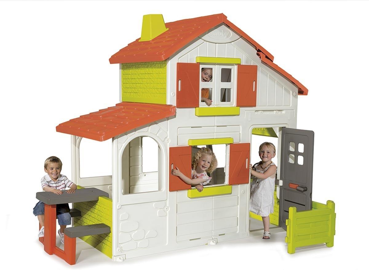 Maison Enfant Duplex - L'univers Du Bébé dedans Maison Jardin Smoby
