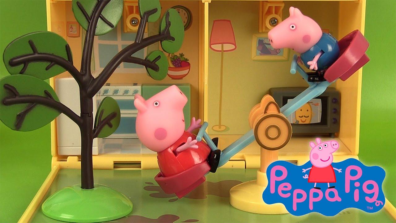 Maison Et Jardin De Peppa Pig Jouets Et Super Sand Peppa'S Home & Garden  Playset destiné Maison De Jardin Jouet