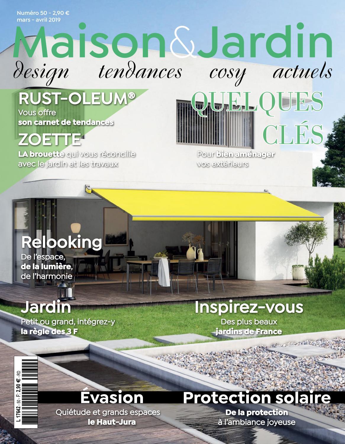 Maison Et Jardin Mars Avril 2019 By Spmediacom - Issuu avec Serre De Jardin Occasion Le Bon Coin