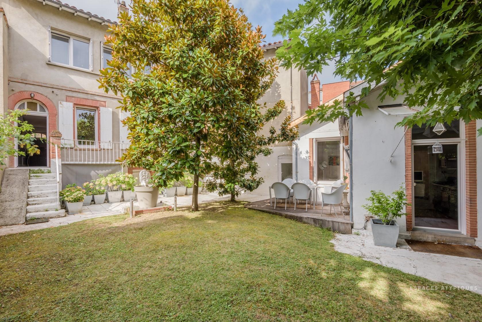 Maison Rénovée De 220M² Avec Jardin De 150M² À Toulouse tout Location Maison Jardin Toulouse