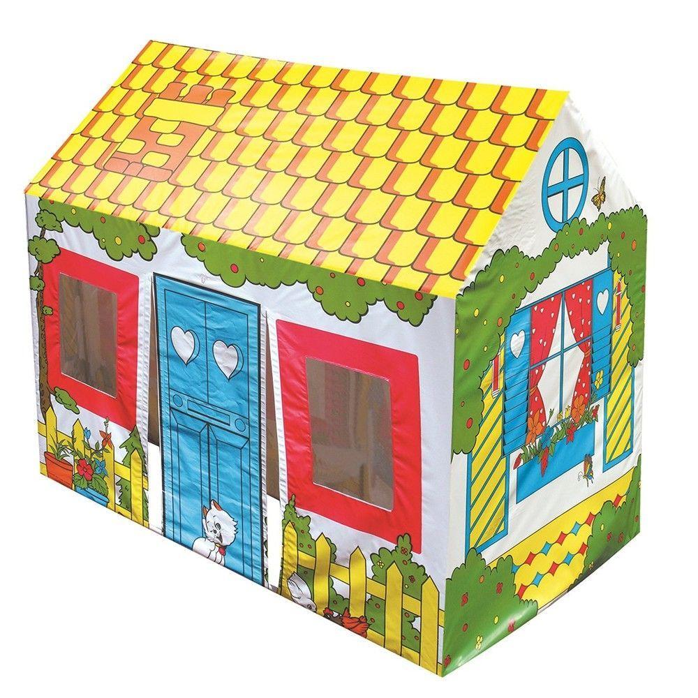 Maisonnette De Jeu En Toile Pour Enfant 52008 concernant Maison De Jardin Jouet