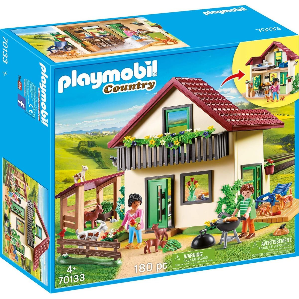 Maisonnette Des Fermiers - Taille : Taille Unique ... concernant Playmobil Jardin D Enfant