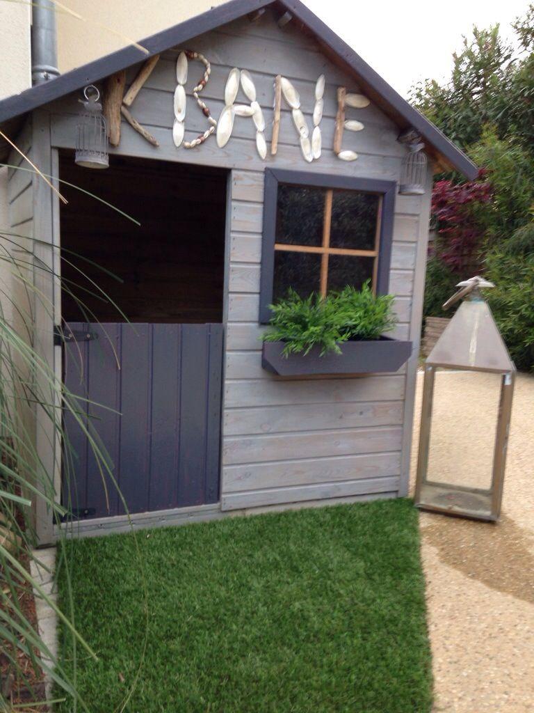 Maisonnette Enfant Bois | Cabane Jardin, Cabane Jardin ... serapportantà Cabane De Jardin Enfant Bois