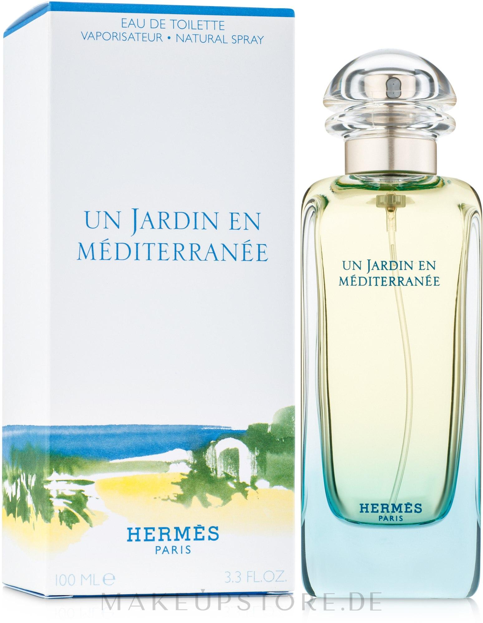 Makeup | Eau De Toilette - Hermes Un Jardin En Mediterranee tout Un Jardin En Méditerranée