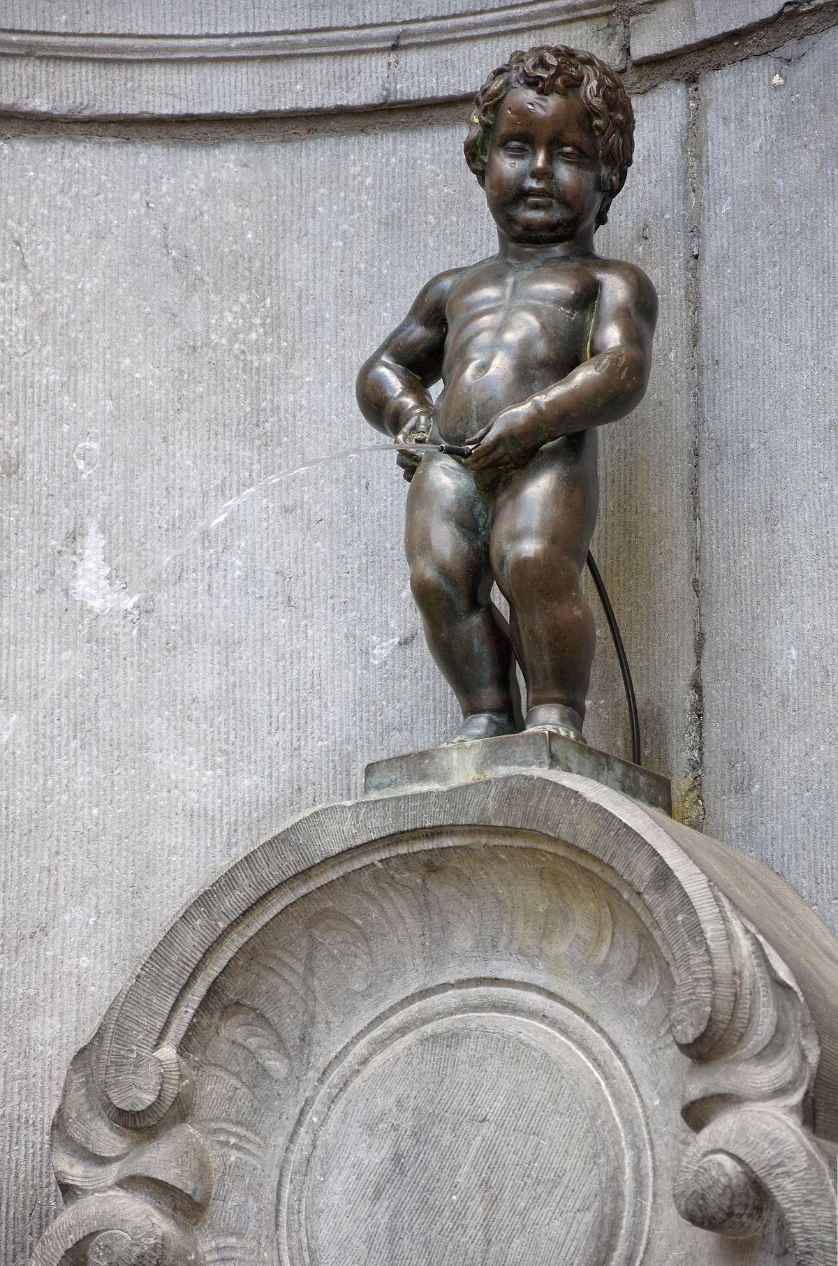 Manneken-Pis — Wikipédia concernant Statues De Jardin Occasion