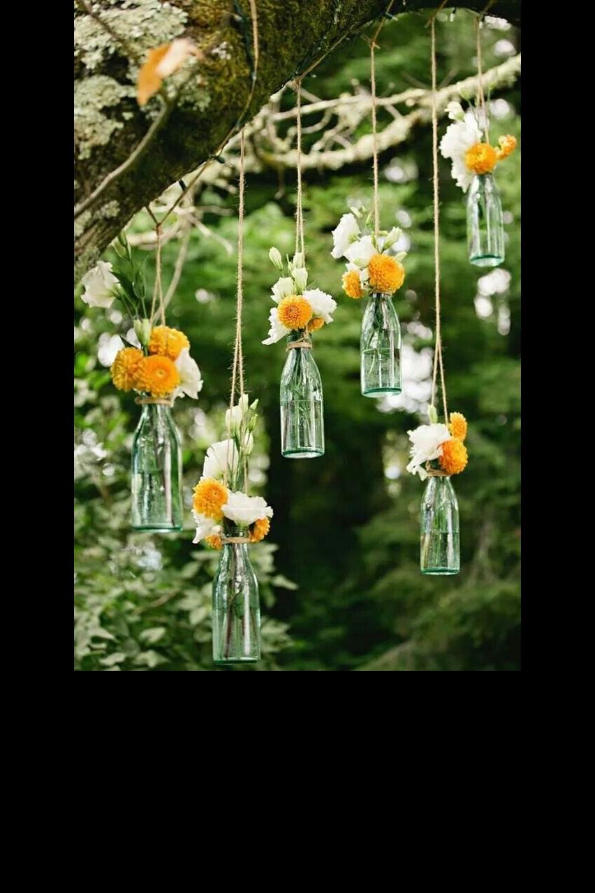 Mariage : 35 Idées Déco De Jardin Dénichées Sur Pinterest ... avec Decoration De Jardin A Faire Soi Meme