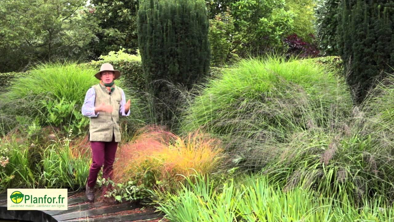 Marier Des Graminées encequiconcerne Amenagement Jardin Avec Graminees