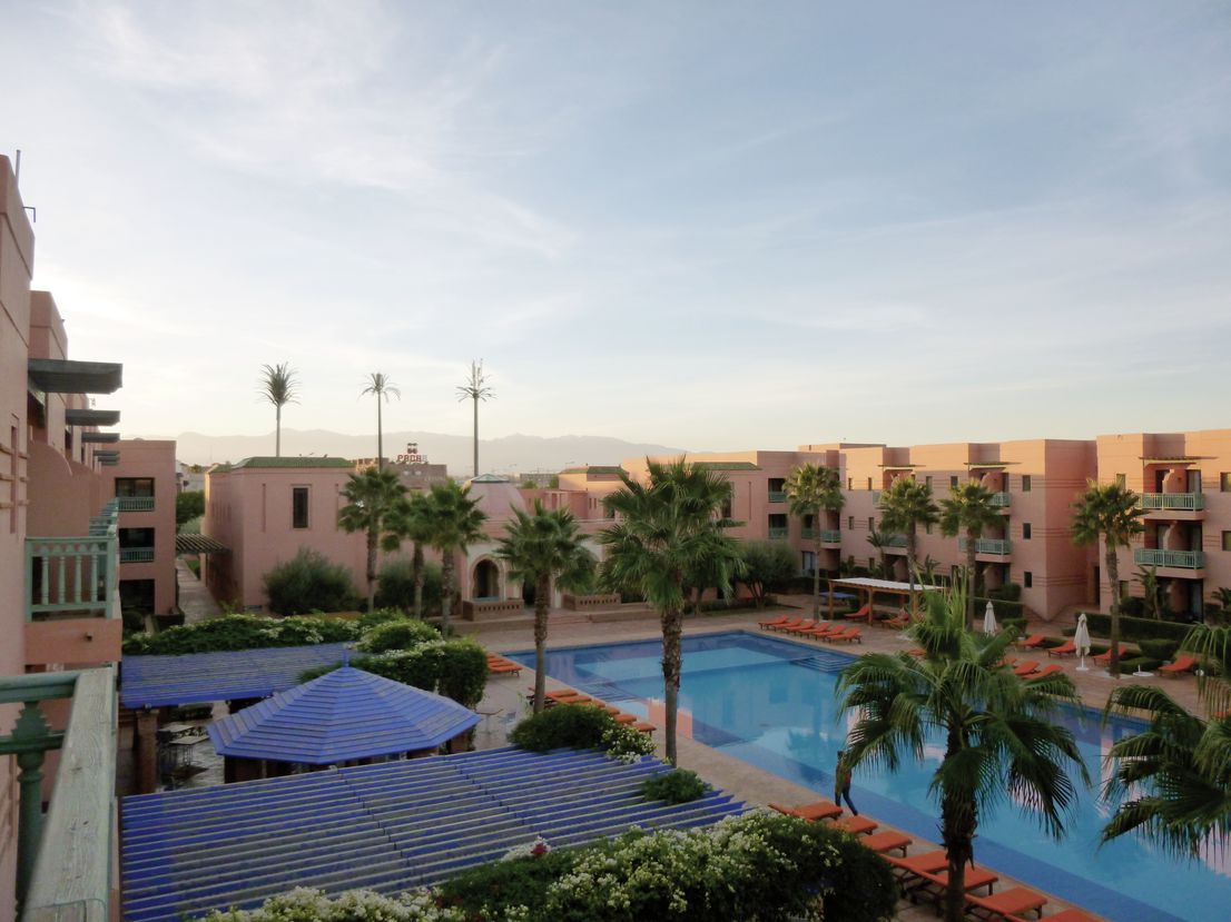 Maroc - Marrakech - Les Jardins De L'Agdal Hôtel & Spa 5* destiné Les Jardins De L Agdal Hotel & Spa