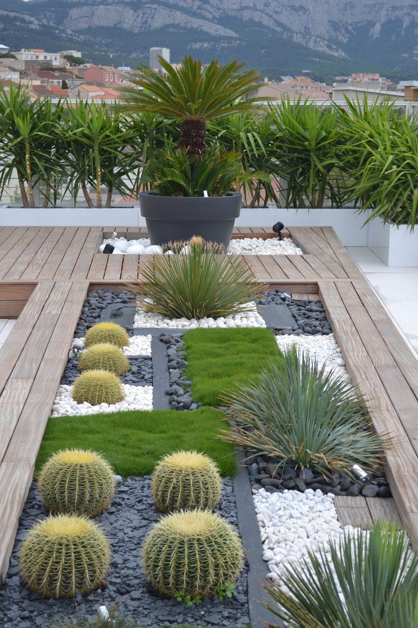 Marseille - N. Roubaud - Vert Tige | Kafi | Jardins ... serapportantà Creation Petit Jardin